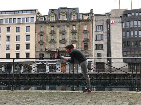 Running Ginebra Geneva Suiza Lago Lemán