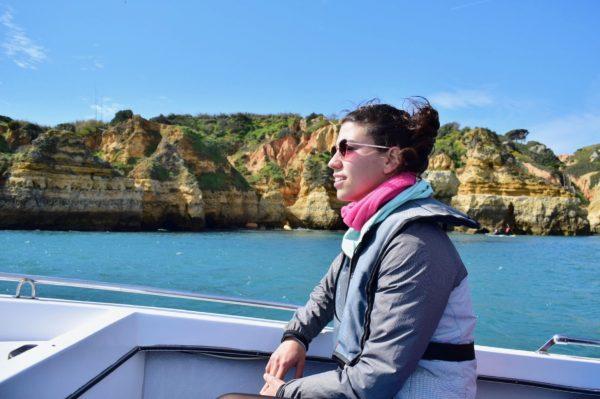 ruta. en barca lagos
