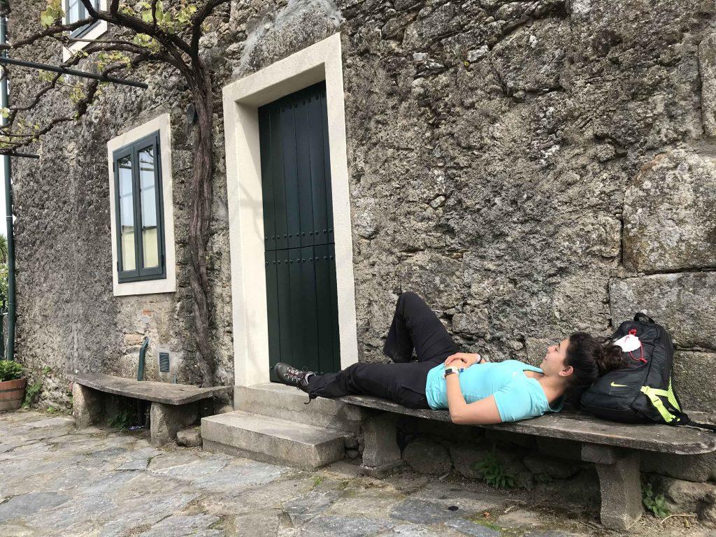 descanso camino de santiago st james way Arzúa