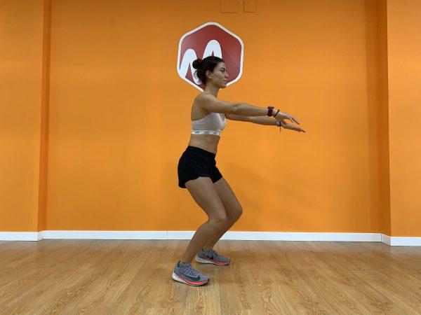 error rodillas adelante squat
