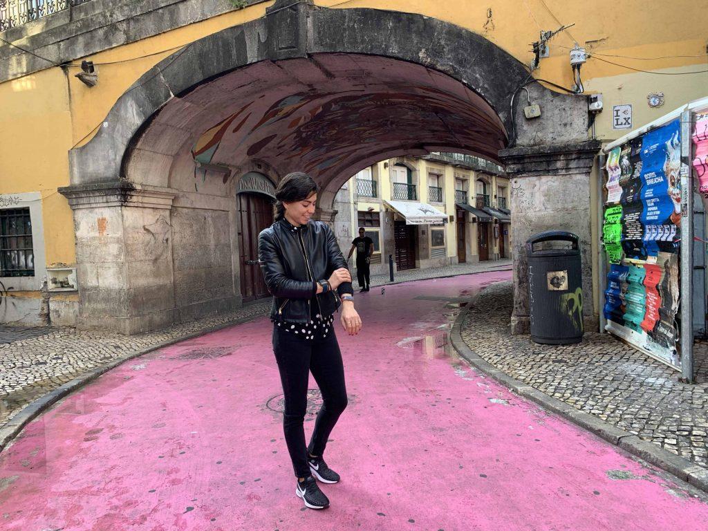 pink street lisboa