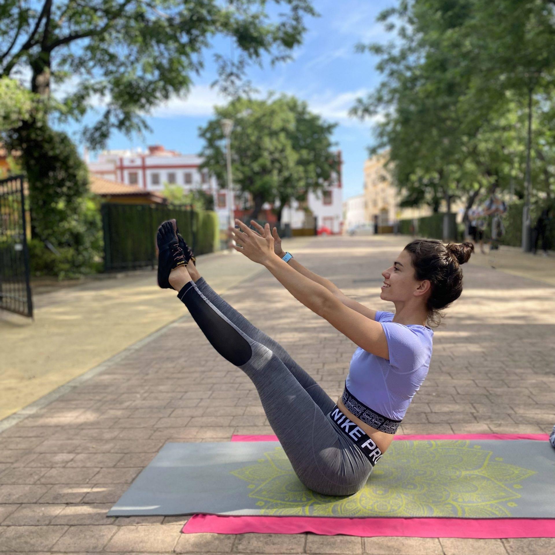 Pilates mTraining jardín reina victoria