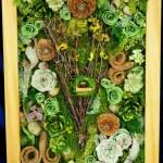 【日比谷花壇】芸術作品のようなアレンジメントも…ウッドフレームの中に広がる森の景色に目が釘付け☆