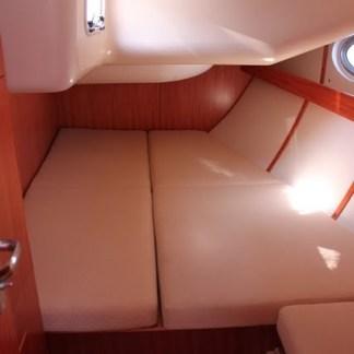 a rear cabin