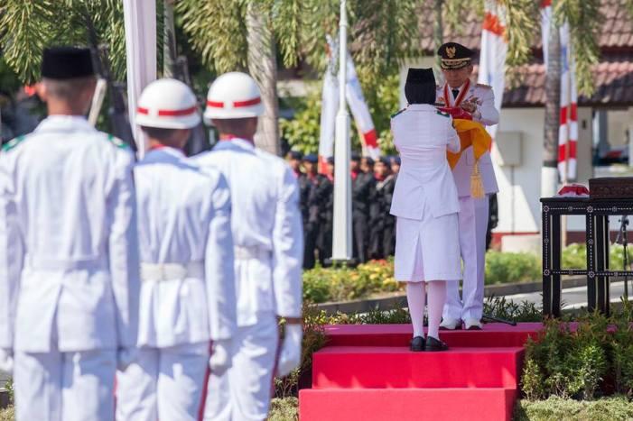 Sambutan Gubernur NTB Pada Upacara Peringatan HUR RI Ke 71 Tahun 2016