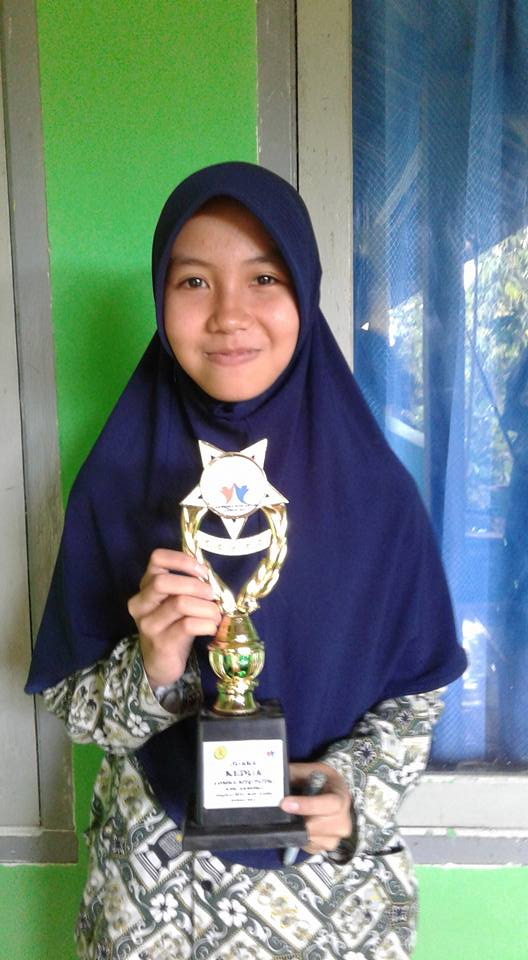 Sarapina Siswi Tsabiwa Raih Juara 2 MTQ AKSIOMA MTs Tingkat Kab. Lombok Timur