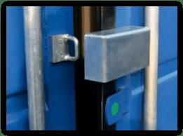Système de protection de cadenas en acier galvanisé