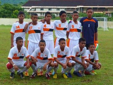 Tim MTsN Kalabahi Bupati Cup U21 2015