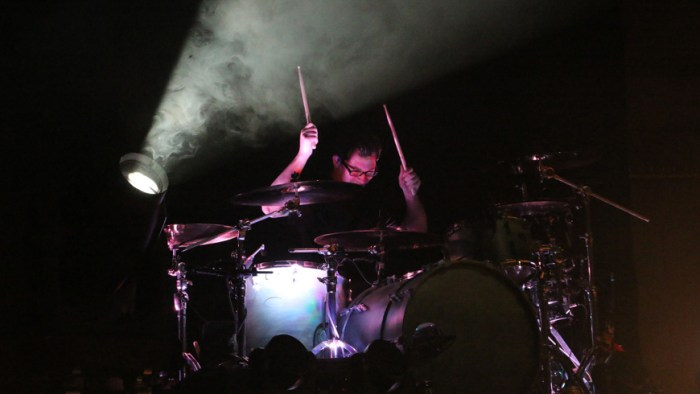 Sam Loeffler of Chevelle performs at the War Memorial Auditorium in Nashville, Tenn. on Tuesday, May 5, 2015. The show was the band's second stop on a co-headlining tour with The Used. (MTSU Sidelines / John Connor Coulston)