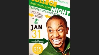 "Youtube star Spoken Reasons will speak at MTSU's Tucker Theatre on Saturday Jan. 31, 2015. The appearance is a part of Alpha Kappa Psi's ""College Night."" (Photo submitted by Alpha Kappa Psi)"