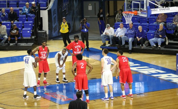 MTSU Women Shine, Men stunned in Basketball Exhibition ...