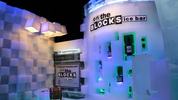 """ICE!™ featuring """"'Twas the Night Before Christmas"""" will be open until Jan.3, 2014 at the Gaylord Opryland Events Center in Nashville, Tenn. (John Connor Coulston/MTSU Sidelines)"""