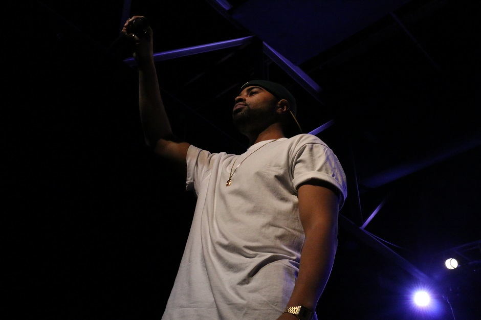Rapper Jay Ant performs at Marathon Music Works in Nashville, Tenn. on Saturday, January 24, 2015. He was one of three opening acts for hip-hop artist G-Eazy. (John Connor Coulston / MTSU Sidelines)