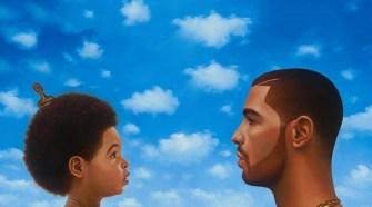 """The album artwork for the standard and deluxe edition of Drakes album, """"Nothing Was the Same."""" (FILE)"""