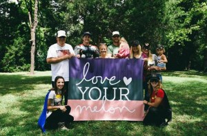 Love Your Melon-MTSU holds the top spot of all colleges in the Southern region participating with LYM. (Submitted by Kevin Donovan)