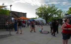 People of all ages attend Mayday Brewery's Folk 'N Art Festival in Murfreesboro, Tenn. on July 15, 2017. (Steve Barnum / MTSU Sidelines)