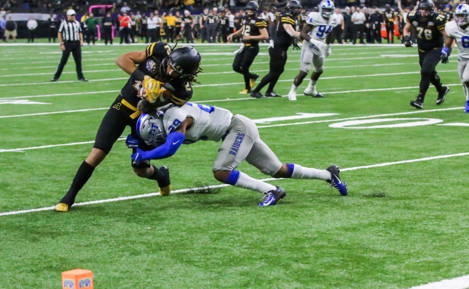 Football: Blue Raiders collapse in New Orleans Bowl, lose to App State 45-13