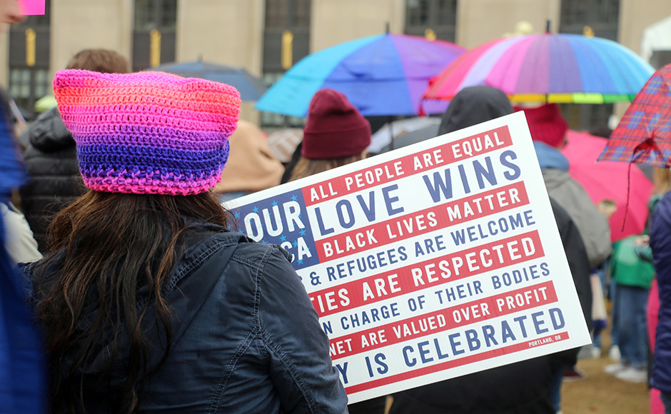 Photos: Hundreds participate in Nashville's third annual Women's March