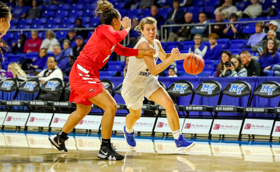 Women's Basketball: Anna Jones leads Lady Raiders to bounce-back victory over WKU