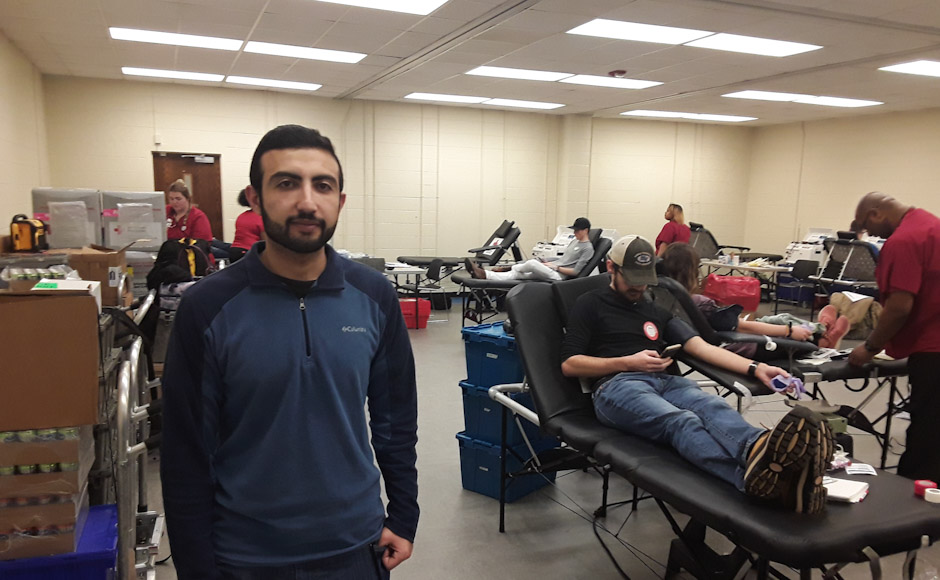 MTSU's Red Cross Club hosts Valentine's blood drive
