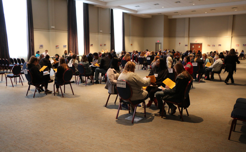ATLAS hosts Poverty Simulation at MTSU to show impact of poverty on local families