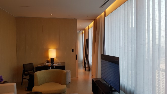 park hyatt bangkok suite the new lounge