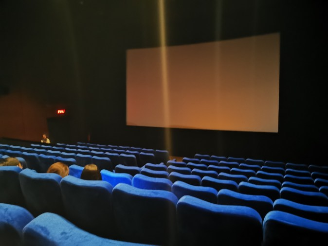 CinemaXXI standard seating to watch Pikachu