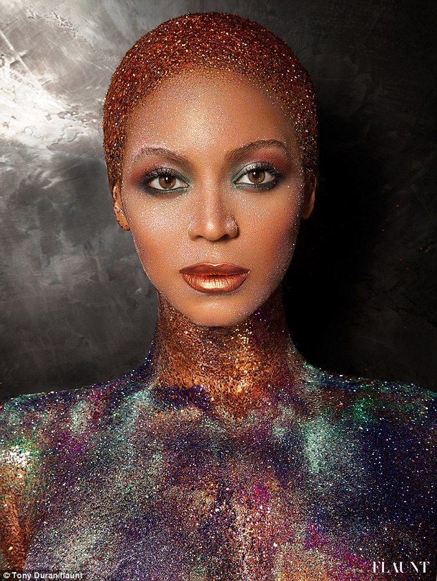Beyonce's Most Revealing Shoot Yet - Glitter