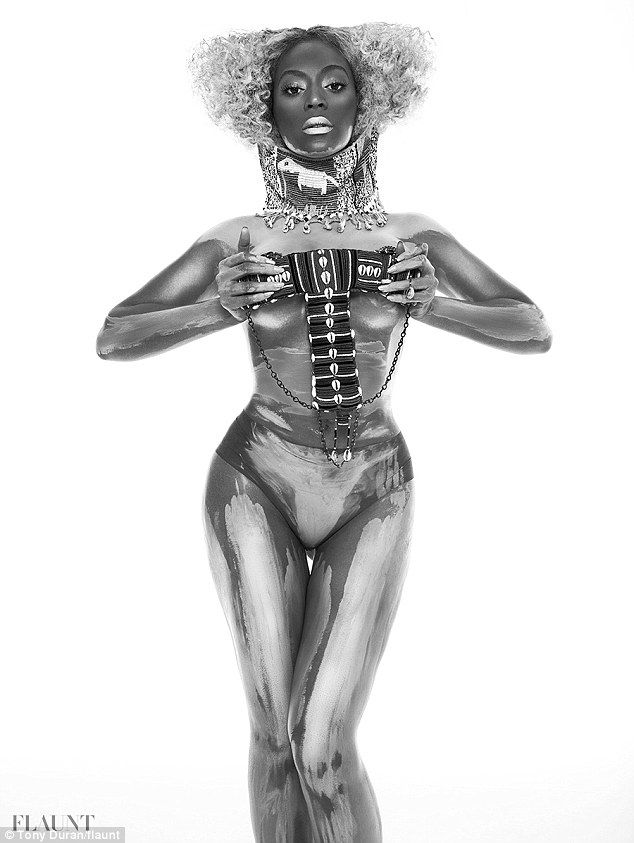 Beyonce's Most Revealing Shoot Yet - Beyonce Tribal #3