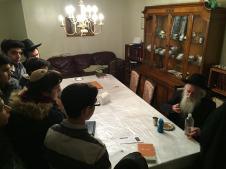 At the South Fallsburg Rosh Yeshiva