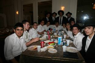 Students at a gathering