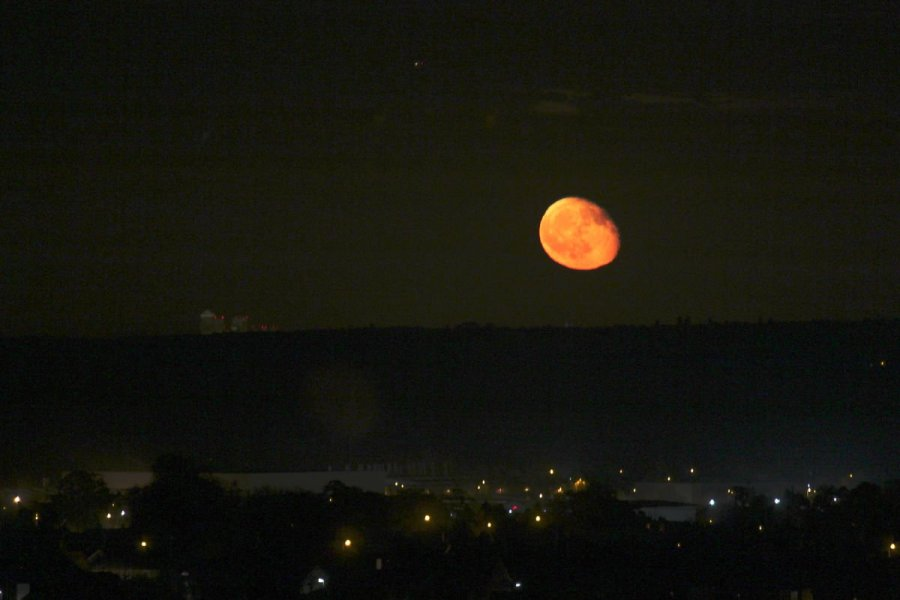 Blutmond Mondfinsternis