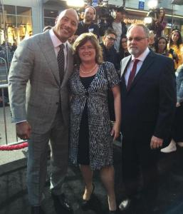 The Rock and Dr. Lucy Jones