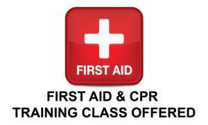 Firat Aid/CPR Training