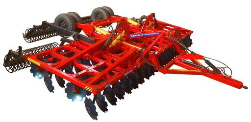 Разновидность тракторного дискатора