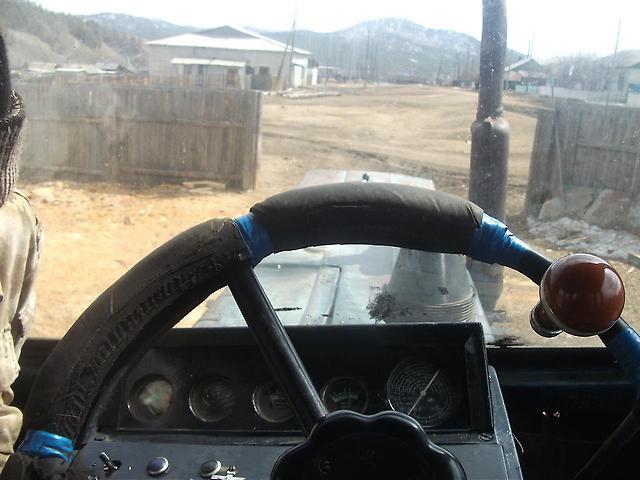 Трактор МТЗ-82 руль