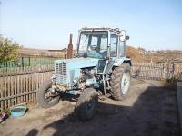 Легендарный трактор МТЗ-80