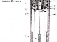 Чертеж гидроаккумулятора