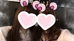 神田キャバクラ【ムーミン(mu-minn)】東京JK制服ラウンジ あーりん しゅうかちゃんと写真