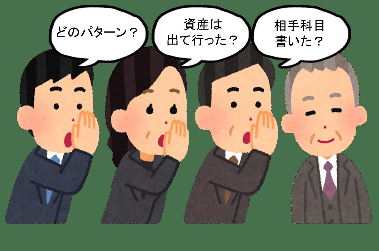 仕訳の方法3段階