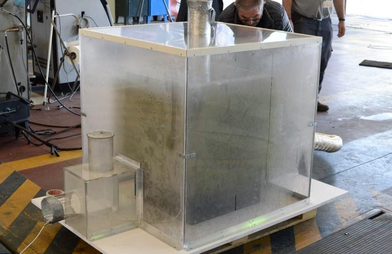 Ensayos para medir la eficiencia de absorción y depuración del sistema
