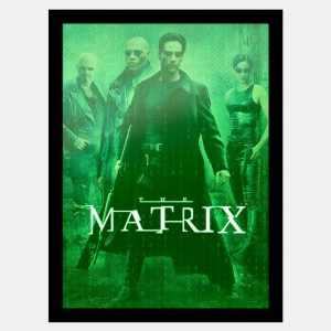 Quadro The Matrix Filme