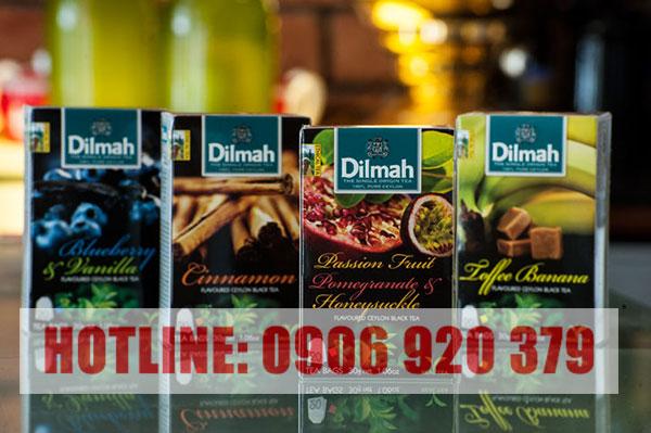 Mua trà Dilmah hương đào ở đâu tại Tp.HCM?