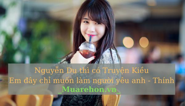 STT thả thính cực chất - Nguyễn Du thì có Truyện Kiều Em đây chỉ muốn làm người yêu anh - Thính