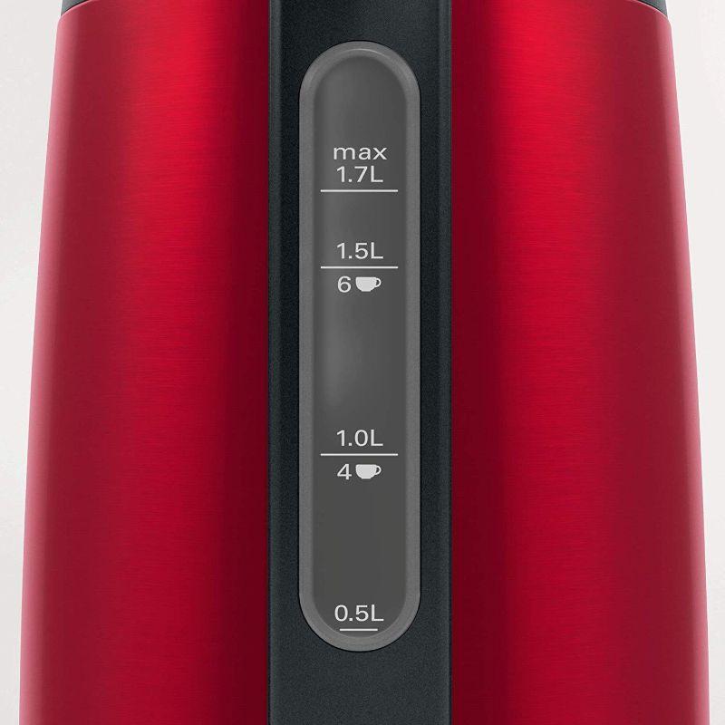 ấm siêu tốc BOSCH TWK3P424 màu đỏ 3
