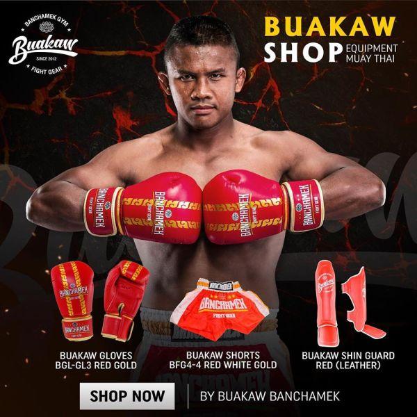 Buakaw Banchamek Shorts And Gloves