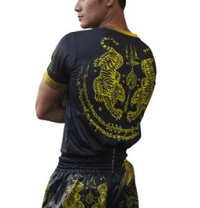 Muay Thai T-shirt Gold Tiger