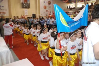 Children's Muaythai parade