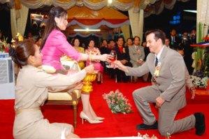 HRH Princess Ubolratana Rajakanya and Stephan Fox