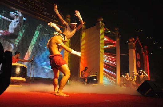 Phra Baromi Pokklao Muaythai show